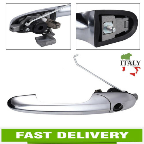 735592012 Maniglia Porta esterna cromato lato anteriore destra Per FIAT 500