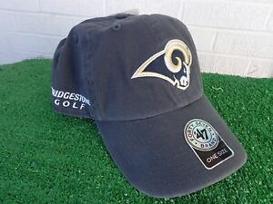 8cabb3dce Bridgestone Golf Los Angeles LA Rams Golf Hat Cap Navy NFL Team ...