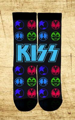 KISS Black Icons Socks