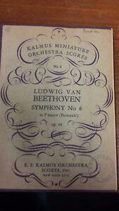 Beethoven: Symphonie Numéro 6: Pastoral: Poche Musique-afficher Le Titre D'origine Demande DéPassant L'Offre