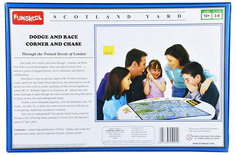 Funskool Scotland Scotland Scotland Yard - A compelling Detective Game 4de602
