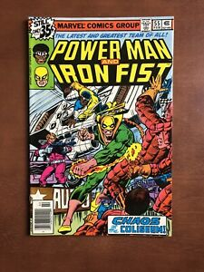 Power-Man-And-Iron-Fist-55-1979-8-0-VF-Marvel-Key-Issue-Bronze-Age-Comic
