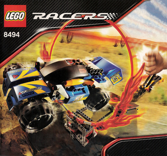 LEGO 8494 - Racers  Power Racers Racers Racers - Ring of Fire - 2008 4acffb