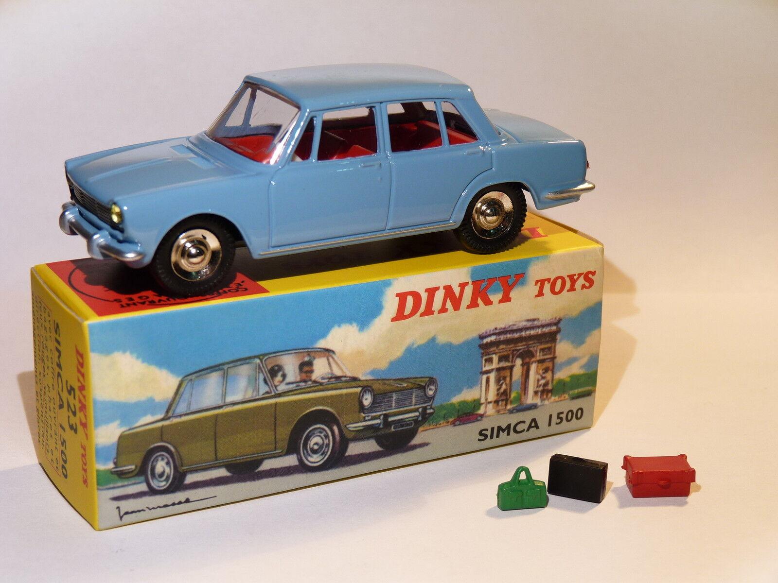 Simca 1500 sedan - ref 523 au 1 43 dinky toys atlas