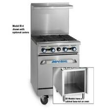 Imperial Ir 2 G12 Xb 24 In 2 Burner Gas Range With Griddle And Cabinet Base