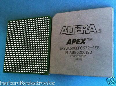 EP20K600EFC672-1 ALTERA EP20K600EFC672-1ES IC APEX 20KE FPGA 672 PIN FBGA
