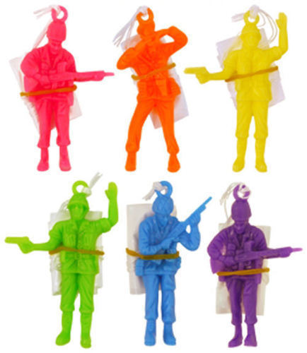 PARACHUTE SOLDIERS MEN Kids Party Favor Favour Loot Lucky Bag Gift Filler Toy UK