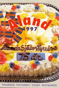 Aland-Jahresmappe-1997-Postfrisch-MNH