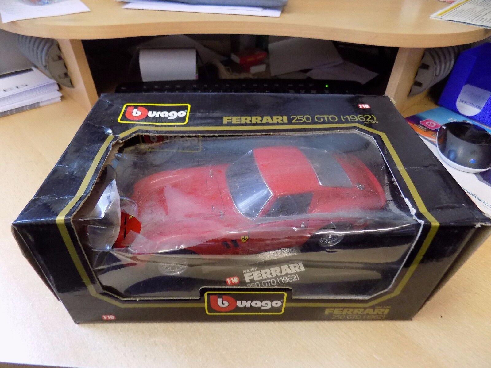 BBURAGO BURAGO 1 18 modellololo FERRARI 250 GTO 1962 cod. 3011