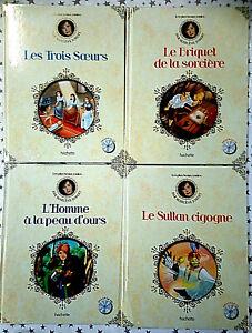 Sélection de 4 livres de contes Marlène Jobert avec CD état neuf
