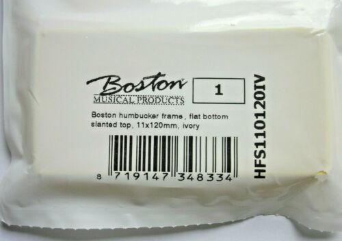 Boston Humbucker-Rahmen 11-12mm flach ivory