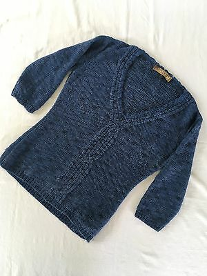 Peruvian Products Everything Alpaca Women's Sweater Size M 3/4 Sleeve