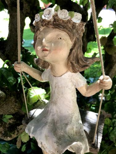 Mädchen Junge Kantenhocker moderne Skulptur Dekofigur *Less Colours Sabo Design*