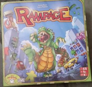 Rampage Board Game New Sealed Never Opened