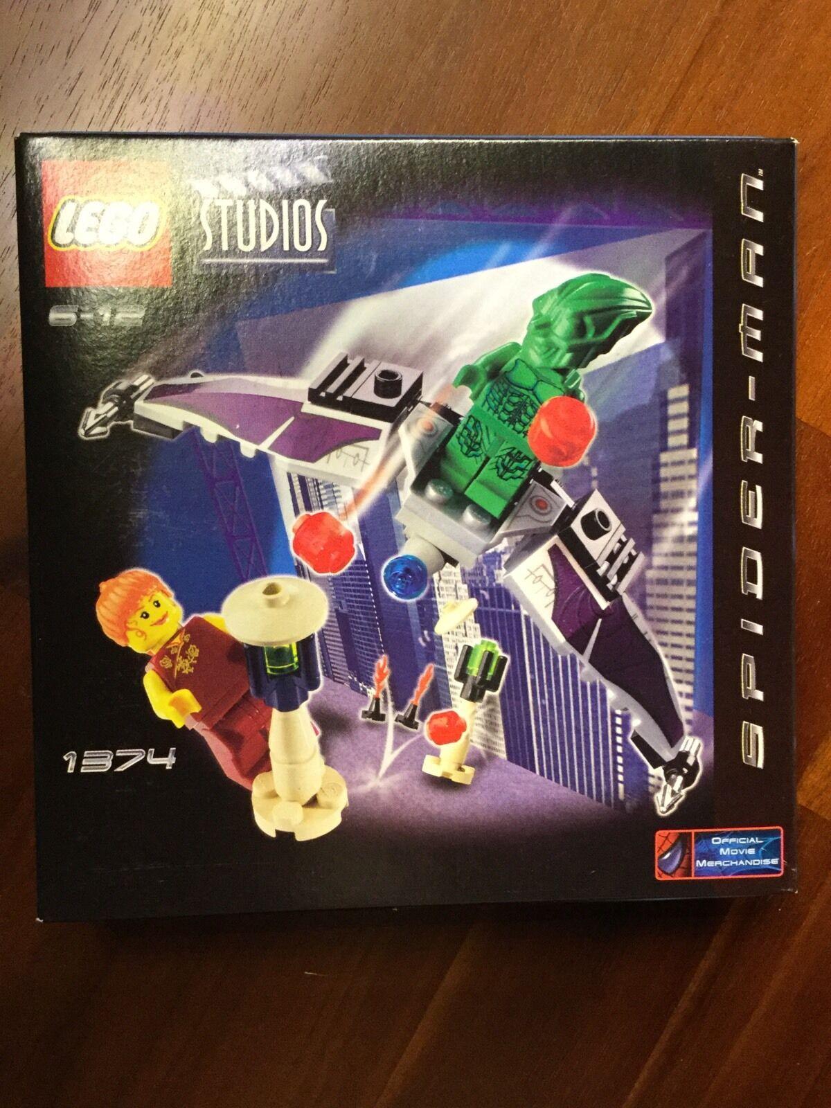 Lego Studios 1374 Spiderman Der grüne grüne grüne Kobold MISB ladenneu 27c0fc