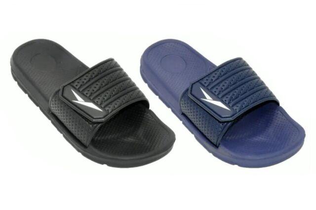 Men's Sandals Flip Flops Velcro Strap