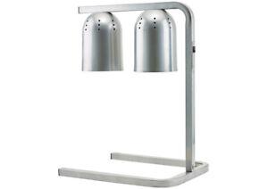 Winco Ehl 2 Bulb Professional Free Standing Heat Lamp Twin Ebay
