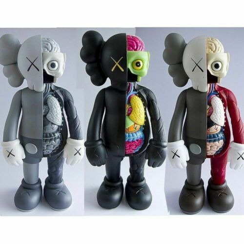 Dissected Companion Figure With Brand New Original Box KAWS Original Fake 8In