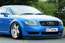 Spoilerschwert Frontspoilerlippe Cuplippe aus ABS für Audi TT 8N Quattro mit ABE