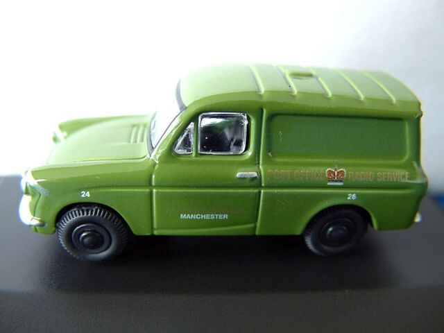 Oxford 76ANG005 Ford Anglia Post Office Van 1/76 New in Case T48 ...