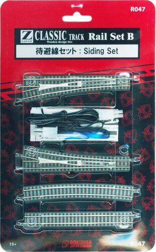 Rokuhan R047 Rail Set B Siding Set (1/220 Z Scale)