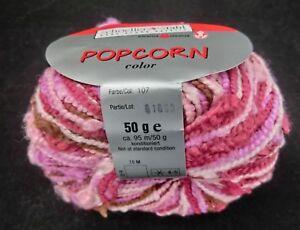 59-kg-450-Gramm-POPCORN-Schoeller-Stahl-Fb-107-rosa-pink-lila-1915