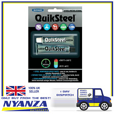 QuikSteel Steel Reinforced Epoxy Paste 2 Part Adhesive High Temperature