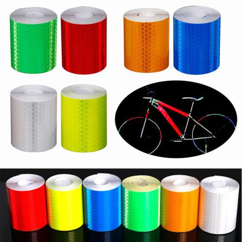 Bike Body Reflective Strips Motorcycle Waterproof Tape Sticker Reflector 3meters
