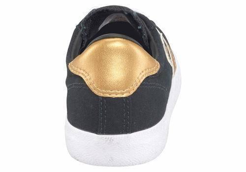 Converse Breakpoint OX NEU Retro Uni Uni Uni Turnschuhe vintage schwarz Gold 21c58d