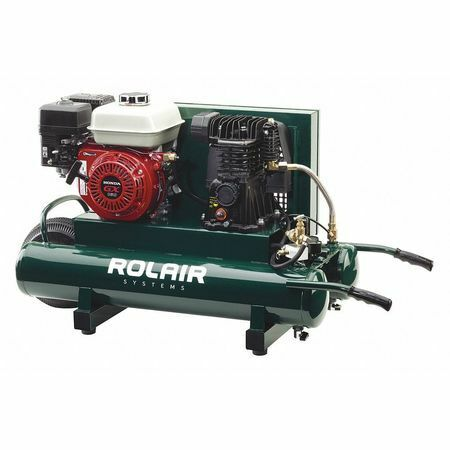 Rolair 4090Hmk113-0001 Portable Gas Air Compressor,9 Gal.,5.5Hp. Available Now for 1095.00