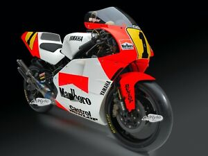24-034-X-30-034-High-Definition-PHOTOGRAPH-Poster-Wayne-Rainey-1991-YZR500-Right-Angle