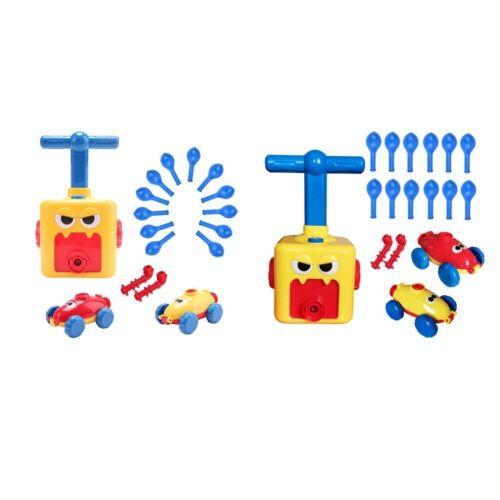 2x Kind Inertial Power Ballon Auto Puzzle Kleinkind Kinder Entwicklungs