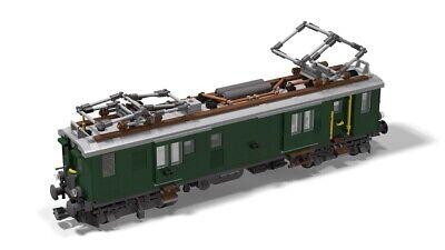 PDF-Anleitung Elektrolokomotive DR E44 MOC Unikat zum Bau aus LEGO ...