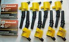 2004 FORD F150 4.6L ALL 8 IGNITION COIL DG508Y & 8 MOTORCRAFT PLUGS SP479 NEW
