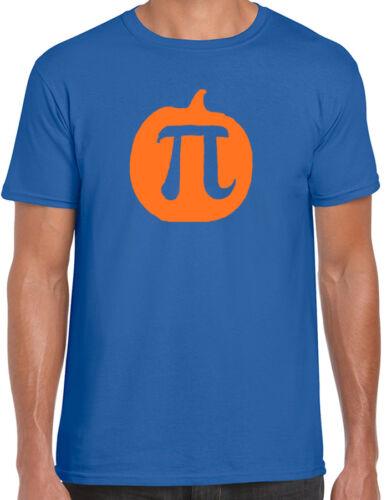 Pumpkin Pi Novelty Maths T-Shirt Funny Geek Engineer Science Gift Ate Tee Class