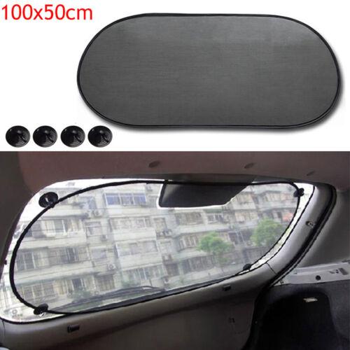 Top Car Rear Window Screen Sunshade Mesh Sun Shade Cover For Car UV Protection