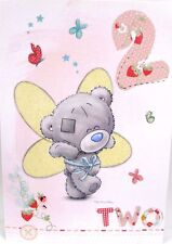 Happy 2nd Second Birthday Card Special Girl Tatty Teddy Ba025