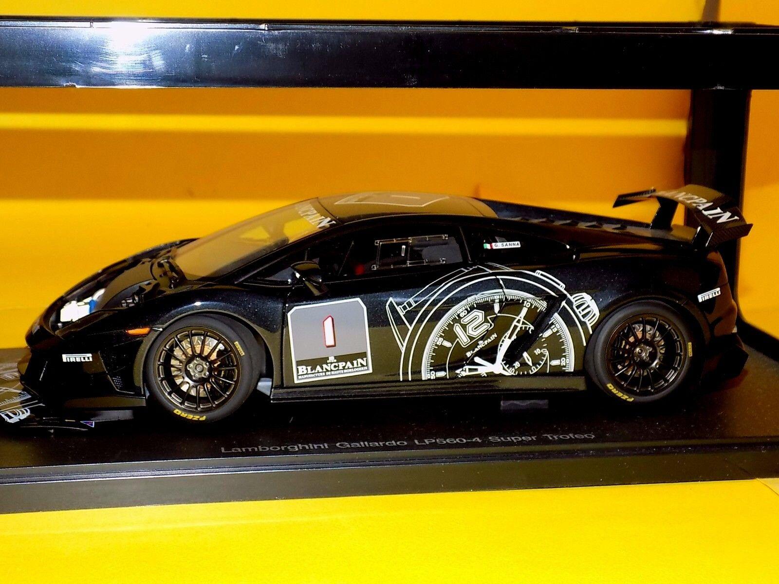 Lamborghini Gallardo LP560-4 Blancpain  1 Super Trofeo AUTOART 74686 1 18