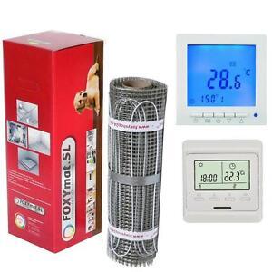 Suelo-Radiante-Electrico-4-5-6-7-8-9-10-Qm-160W-Twin-Calidad-Premium-Foxymat