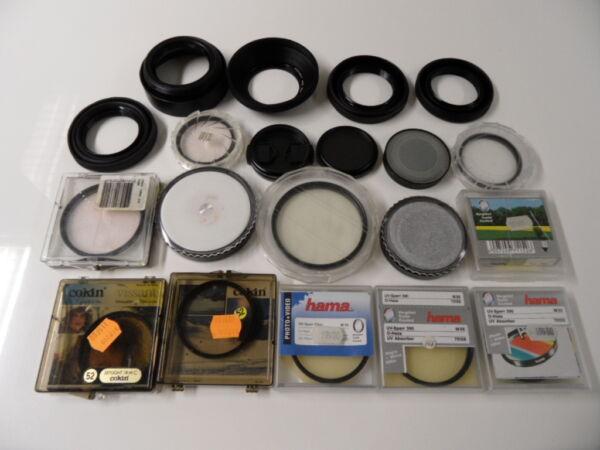 15 Filtres Uv Photo/video Skylight Cokin/hama/hoya/posso 48/52/55/72/62/59mm