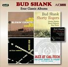 Four Classic Albums: Blowin' Country/Bud Shank with Shorty Rogers & Bill Perkins/Bud Shank and Three Trombones/Jazz at Cal-Tech by Bud Shank (CD, Jun-2013, 2 Discs, Avid Jazz)