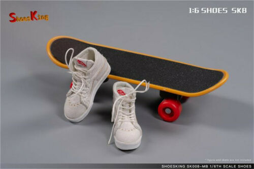 Shoe Kings SK008 sk8 1//6 action figure Men/'s classic canvas Sports casual shoes