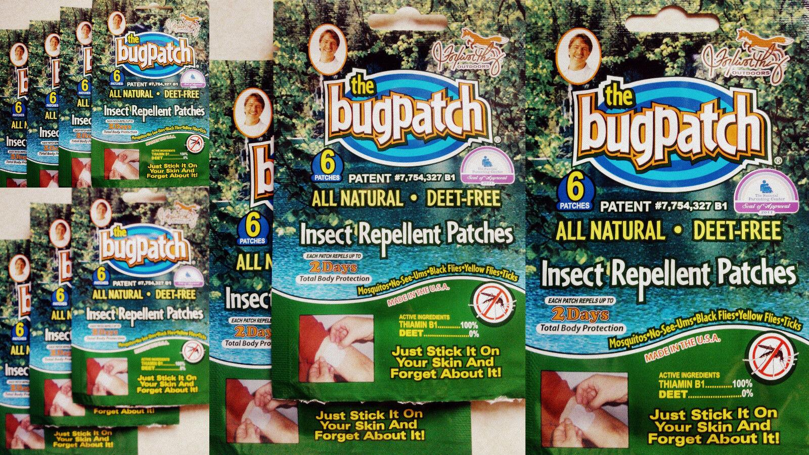 Patch Bug Zanzara Patch Repellente Per Insetti & Patch Zanzara 6,12,18,24-60 confezioni * scegli!!! f63427