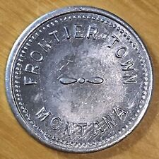 Frontier Town Montana, Good for 5 Cents Trade Token (#x434)