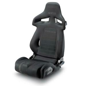 SPARCO-R333-RACING-TUNING-RECLINING-ADJUSTABLE-SPORTS-SEAT-BLACK