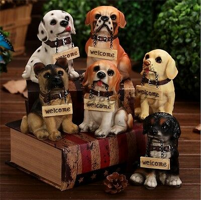 Adorable Pug Puppy Dog Welcome Garden or Porch Statue Greeter Lawn Yard Art New