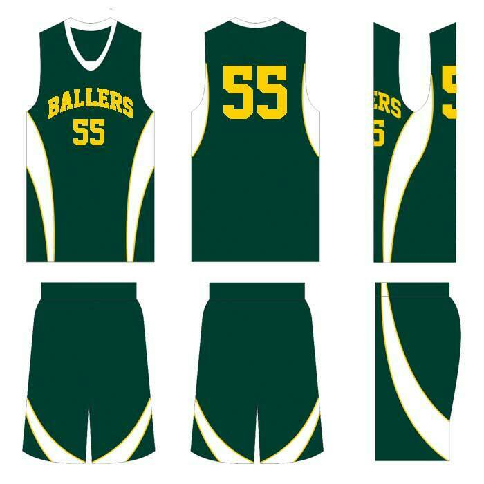 WINNING BEAST 16 STYLE 504 BASKETBALL UNIFORMS YOUR TEAM COLOR W  NAME & NUMBERS