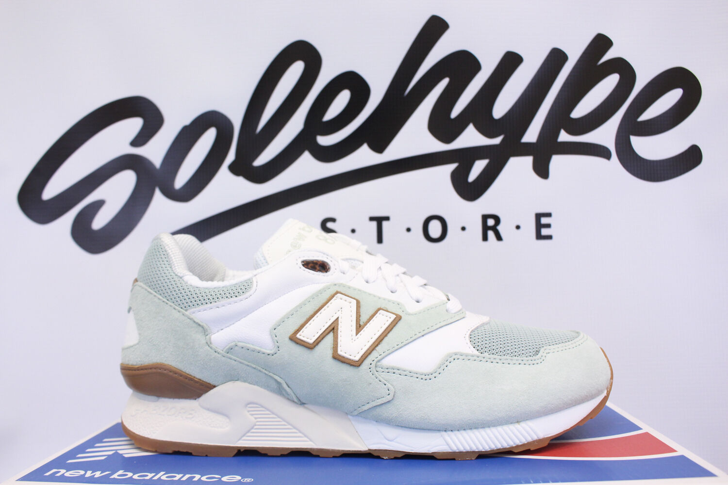 NEW BALANCE 878 PASTEL PACK MINT WHITE BROWN GUM ML878RMA SZ 9