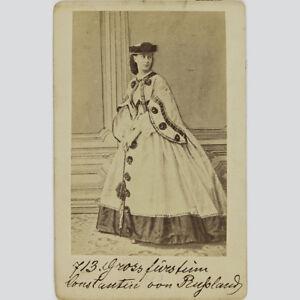 Alexandra Von Sachsen-altenburg. Russische Großfürstin. Cdv Um 1865. Warmes Lob Von Kunden Zu Gewinnen