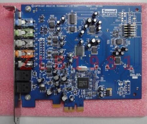 ONE USED Innovation SB1040 SB0820PCI-E X-Fi Xtreme PCI-E 7.1